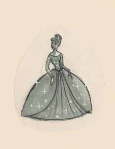 Cinderella concept art - Cinderella attends the ball