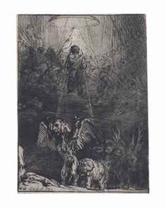 van Rijn , The Vision of Daniel Gustave Dore, Rembrandt Etchings, Artist Signatures, Wood Engraving, French Artists, Native American Indians, Poster Prints, Illustration, Soldiers