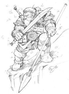 Snow Dwarf by Max-Dunbar on DeviantArt
