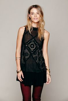 446cb8f4a83c Free people angel lace dress Free People Dress, Lace Dress Black, Types Of  Fashion
