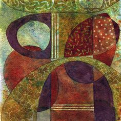 Michèle Brown Artist - The Old Cells Studio: Two Elementals - watercolour paintings