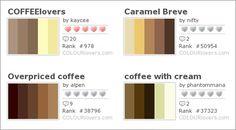 coffee shop colors