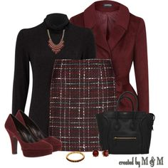 """""""~THURSDAY @ THE OFFICE~"""" by marion-fashionista-diva-miller on Polyvore"""