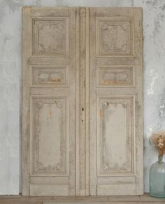 Vintage Panel Doors - on the lookout for these at consignments and antique shops