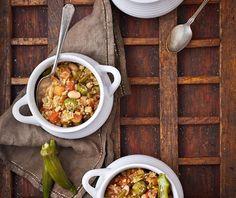Quinoa gumbo  recipe from Vegan Slow Cooking for 2