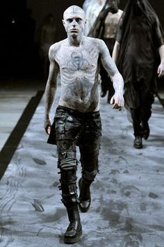 thierry mugler men's fashion 2011 (haute couture zombies just slay me.)