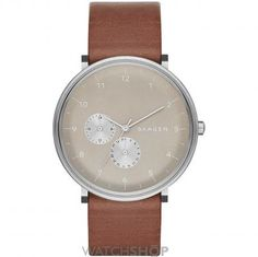 Mens Skagen Hald Refined Watch SKW6168