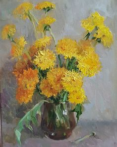 493 best yellow flowers images on pinterest in 2018 flower art oil painting flowers art oil yellow flowers drawing art oil paintings mightylinksfo