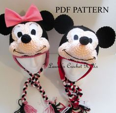 mickey mouse crochet hat | Mickey Mouse Hat Crochet Pattern 8276 Wallpaper with 1500x1472 ...