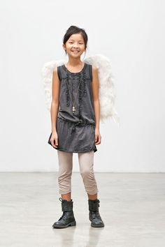 super simple, but perfectly chic costume