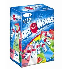 Airheads Chewy Fruit Candy, Variety Pack (Flavors may differ), cherry Candy Gift Baskets, Candy Gifts, Bulk Candy, Candy Shop, Box Of Candy, Chewy Fruit Candy, Airheads Candy, Mars Chocolate, Taffy Candy