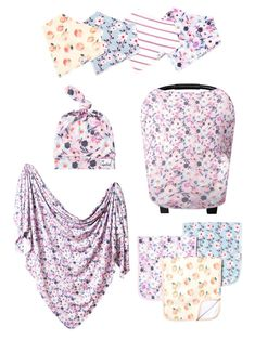 Sweet-Tempered Baby Clothes Family Matching Swimwear Women Mum 2-10t Baby Girl Flowers Swimsuit Bikini Set 2pcs High Quality Materials For Kids Luggage & Bags