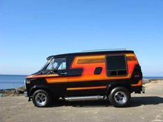 chevy custom van for sale Custom Vans For Sale, Custom Cars, Rat Rods, Dodge Van, Old School Vans, Vanz, Panel Truck, Van For Sale, Cool Vans