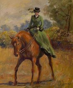 side saddle art