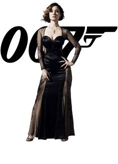 007 James Bond Girl 2012 Skyfall: Bérénice Marlohe (French) as Severine