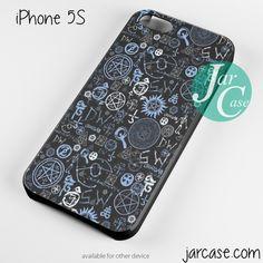 supernatural logo collage Phone case for iPhone 4/4s/5/5c/5s/6/6 plus