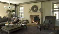 Portfolio - impressie openhaarden | Daniëls openhaarden Decor, Furniture, House, Interior, Interior Inspiration, Home Decor, Classic Interior Design, Interior Design, Fireplace