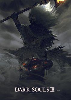 Dark Souls3, HAOXIN Z on ArtStation at https://www.artstation.com/artwork/1XgV8
