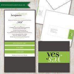Individuelle Gestaltung Ihrer Hochzeitskarten  | Hochzeitseinladung | Wedding Invitation | Save the date
