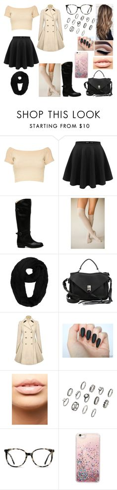 """Untitled #229"" by kora-muffin on Polyvore featuring Alice + Olivia, Frye, Base Range, Rebecca Minkoff, MDMflow and Ace"