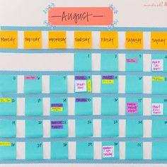 Un calendrier - Marie Claire Idées