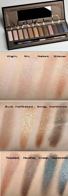 Urban Decay -Naked  eye shadow palette  http://www.urbandecay.com/naked-palette-eyeshadow-by-urban-decay/245,default,pd.html