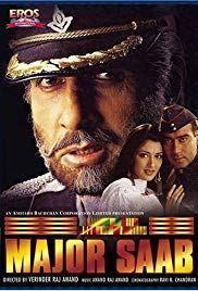 Download Major Saab 1998 Hindi 720p Bluray 1 1gb Major Saab 1998 Hindi 720p 480p 1080p This I In 2020 Best Bollywood Movies Free Movies Online Bollywood Movies