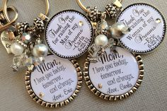 PERSONALIZED Mother of the BRIDE gift MOTHER of the by buttonit