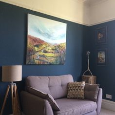 Big is beautiful – Light Over Littondale Pic © Kay Dower, Corner Gallery Beautiful Lights, Big And Beautiful, Hague Blue, We Fall In Love, Small Rooms, Tiny House, Landscapes, Corner, Colours