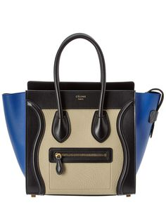 CÉLINE Micro Luggage Tricolor Leather Tote is on Rue. Shop it now.
