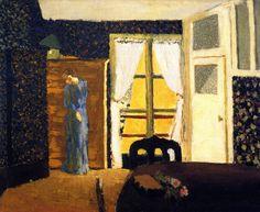 The Window ~ Edouard Vuillard - 1894