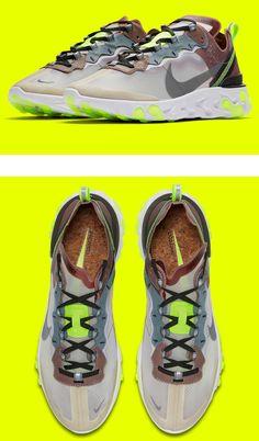 "The Nike React Element 87 ""Desert Sand"" 267708ea2"