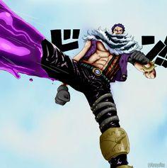 One Piece 863 - Katakuri's power color vesion by Hanayo-Nao