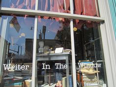 The Paris Market-The Writer in the Window