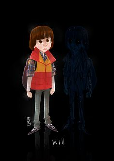 Will Byers (+ The Upside Down version of him) from Stranger Things