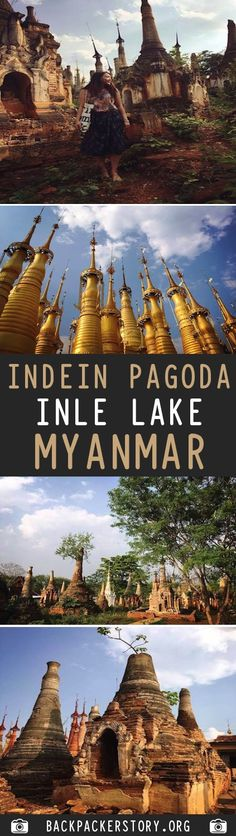 Indein Pagoda is to the south west of Inle Lake, in Shan State of Myanmar. How to get to Indian Pagoda, Indian Pagoda price Travel And Tourism, Asia Travel, Travel Destinations, Travel Advice, Travel Guides, Travel Plan, Travel Tips, Inle Lake, Country Maps