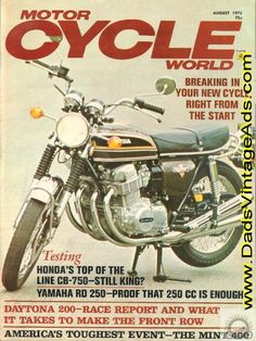 1973 Honda CB750-K3 Road Test / Specs – Still King?