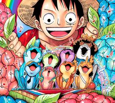 Everything One Piece, from manga to anime, from chapter covers to quotes, from merchandise to new information.