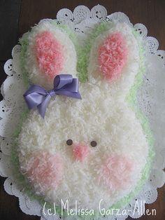 Too Cute Bunny Cake