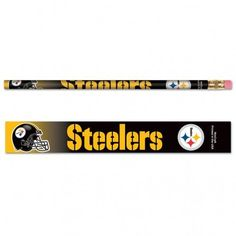 Pittsburgh Steelers Pencil 6-pack MNF