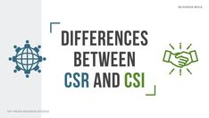 """Differentiate between Corporate Social Responsibility (CSR) and Corporate Social Investment (CSI), also known as Corporate Philanthropy. Learn to discuss the differences between the two: CSR vs CSI. Prepare for Business Studies final exams, Grade 12, NSC, South Africa. Define CSR and CSI. By a qualified Business Studies teacher. NSC Exam preparation, study notes. This is a poster with the title """"Differences Between CSR and CSI."""" Visit this article by Nonjabulo Tshabalala to read more. Past Exam Papers, Past Exams, Final Exams, Exam Revision, Business Studies, Corporate Social Responsibility, Header Image, Distinguish Between"""