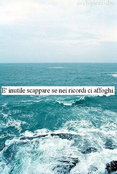 La vita é come ma marea