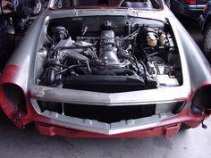 Mercedes-Benz 280 SL restauro
