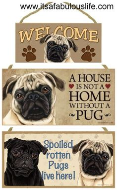 Gifts for Pug Lovers - It's A Fabulous Life