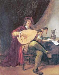 Autorretrato como músico (Jan Havicksz Steen, 1660-63)