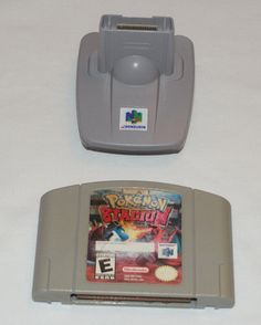 Pokemon Stadium Bundle Game Transfer Pak Pack Cleaned Contacts Nintendo 64 N64