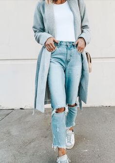 Source by moneymart Fashion moda Fall Winter Outfits, Autumn Winter Fashion, Summer Outfits, Trendy Outfits, Cute Outfits, Fashion Outfits, Fashion Hacks, Fashion Ideas, Estilo Cool