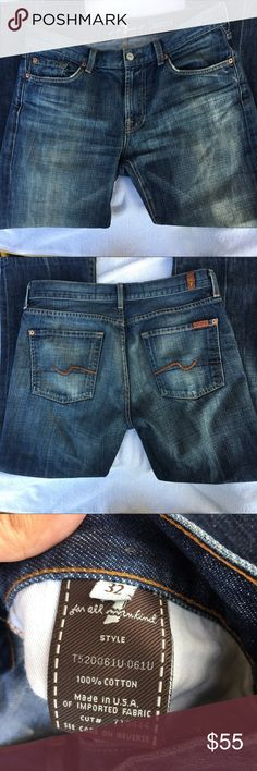 7 For All Mankind Bootcut Jeans Sz 32 7 For All Mankind Bootcut Jeans Sz 32. Great condition. Feel free ro ask any questions :) 7 For All Mankind Jeans Boot Cut