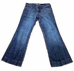 Kut From The Kloth Womens Jeans Size 10 Boot Cut 31 x 30 Medium Wash EUC