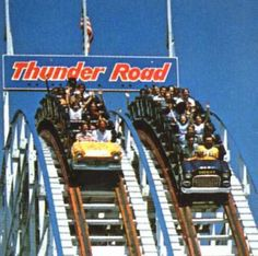 The one and only....Thunder Road at Carowinds.